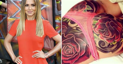 cheryl cole s rose tattoo cost as much as a car was it