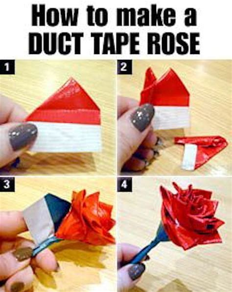 How Do You Make A Flower Out Of Paper - diy duct pictures photos and images for