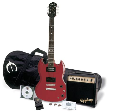 Gitar Epiphone Sg Special Hitam epiphone player packs offer great guitars at great prices