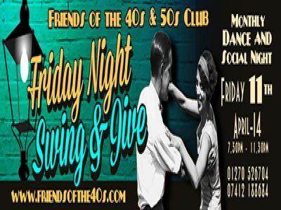 friday night swing chelford village friday night swing jive