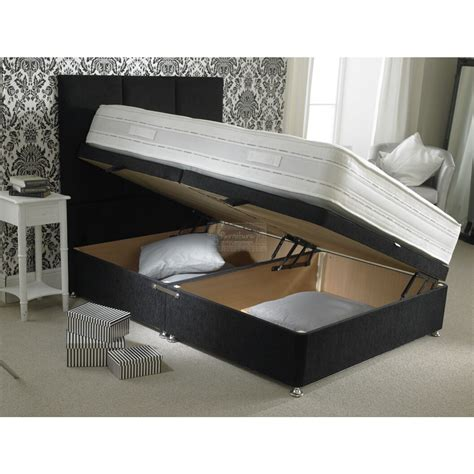 upholstered divan ottoman storage bed furniture mill outlet
