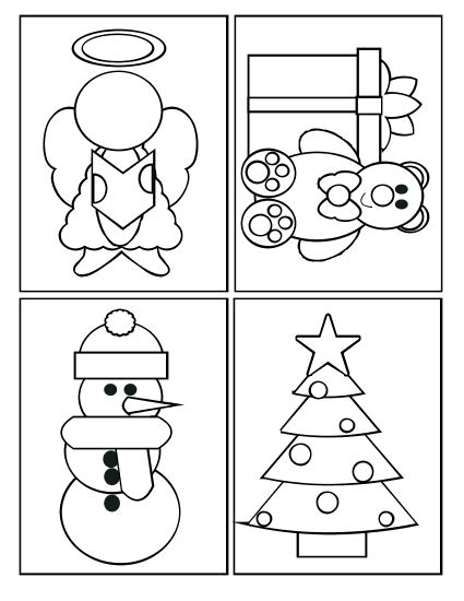Coloring Page Cards by Coloring Cards 4 Coloring