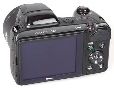 Nikon Coolpix L340 20 2mp Hitam nikon coolpix l340 images