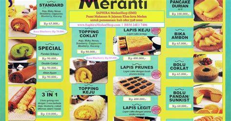 Bolu Gulung Meranti Standard Keju saphira medan shop sms harga bolu gulung meranti medan