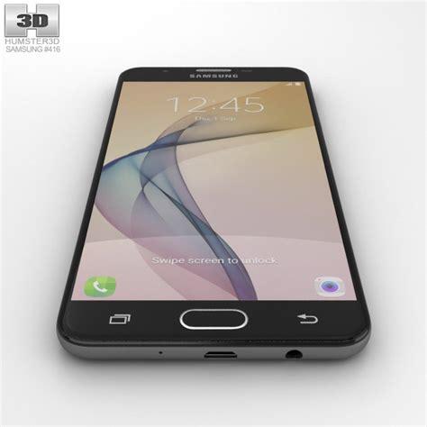 Samsung Galaxy J7 Prime Black samsung galaxy j7 prime black 3d model hum3d
