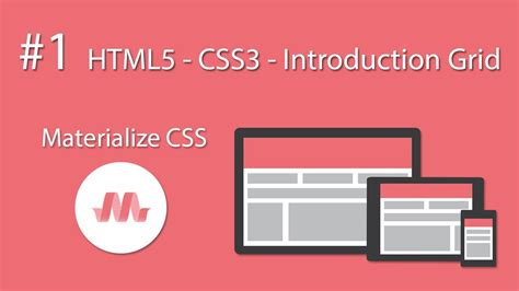grid layout html5 css3 html5 css3 material design materialize css 1