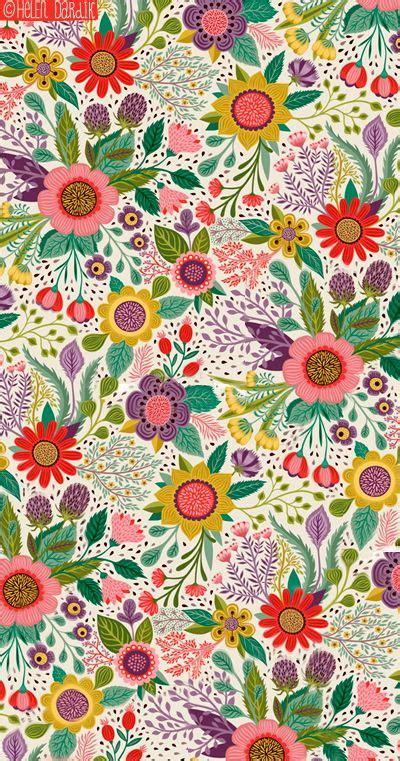 pattern pinterest botanical romance by helen dardik http www