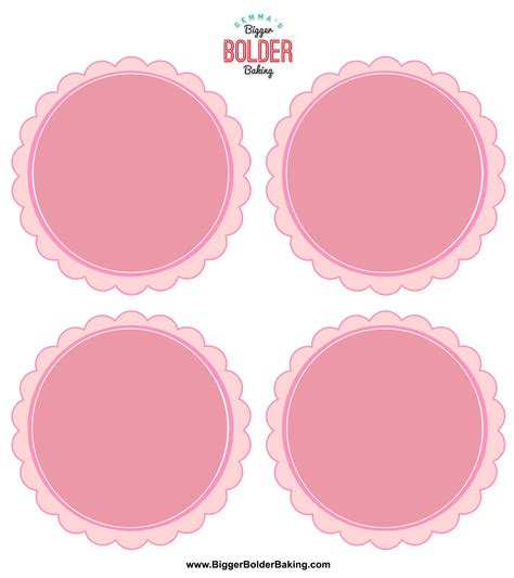 Homemade Ice Creams Labels Template Gemma S Bigger Bolder Baking Labels Templates