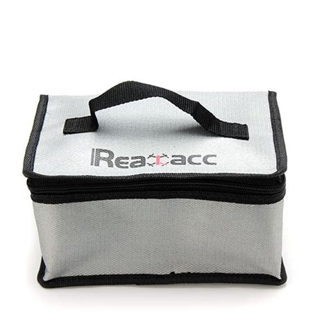 Fireproof Rc Lipo Battery Safety Bag 220x155x115mm new arrival fireproof rc lipo battery safety bag safe guard realacc retardant lipo battery