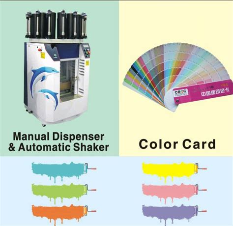 paint tinting system tinting machine colorants color card software buy automotive paint
