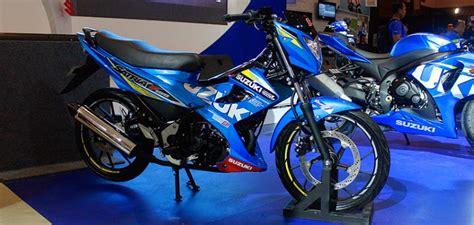Alarm Motor Bebek bluspit moto suzuki rilis satria fu150 motogp