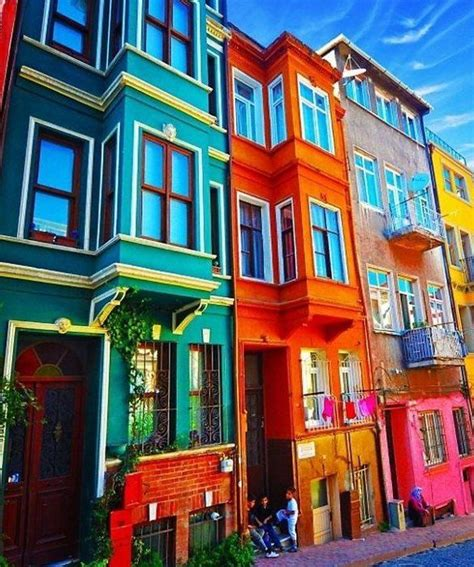 colored houses 25 best ideas about colorful houses on pinterest