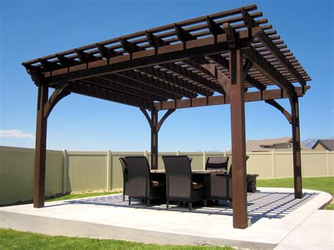 pergola with swings and pit pit design ideas