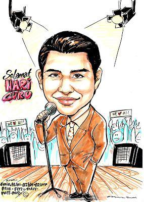 karikatur hari guru azam zamri may 2009