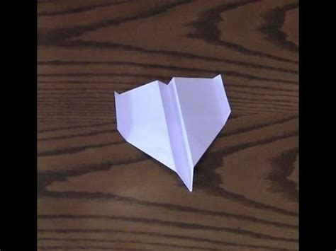 How To Make A Eagle Out Of Paper - how to make a paper airplane eagle