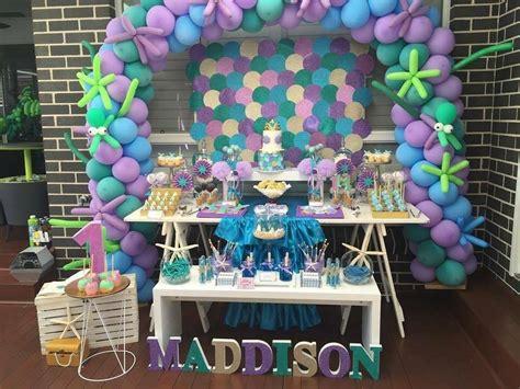 Under the sea first birthday little wish parties