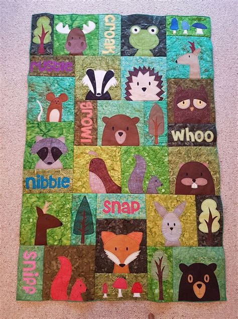 Animal Patchwork Quilt Patterns - best 25 animal quilts ideas on baby quilt