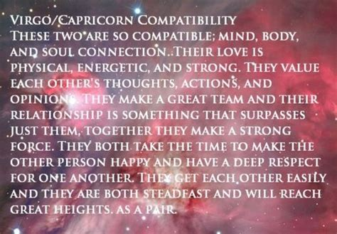 virgo capricorn compatibility virgo pinterest