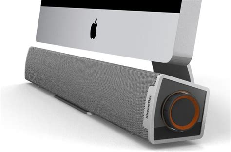 Imice Speakers xtrememac bar speaker compliments the imac to a t