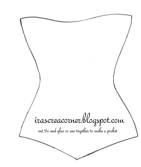 corset template ira s crea corner corset template crafting templates