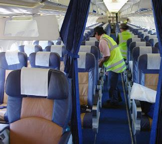 Aircraft Cabin Cleaner by K T Aviation Services Pty Ltd