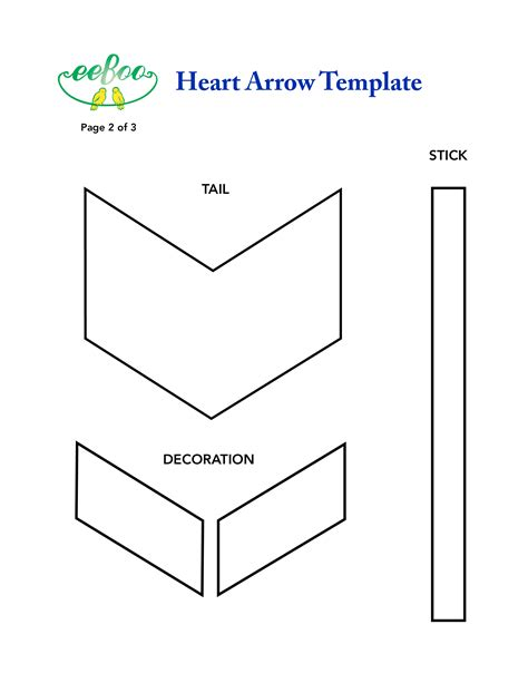 eeboo studio 187 blog archive 187 craft idea heart arrow