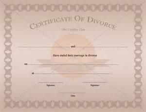 separation certificate template best photos of printable divorce certificate divorce
