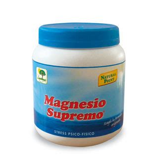 magnesio supreme magnesio solubile stress psico fisico point foodly