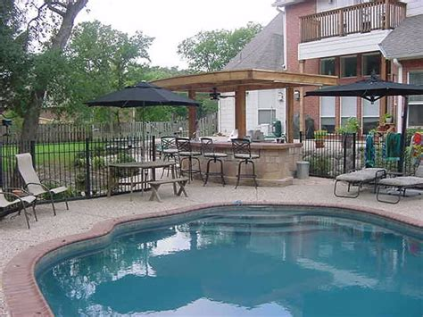 outdoor kitchen designs with pool landscape design frisco plano dallas outdoor