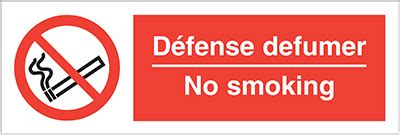 no smoking sign in french allsigns international ltd no smoking in english and