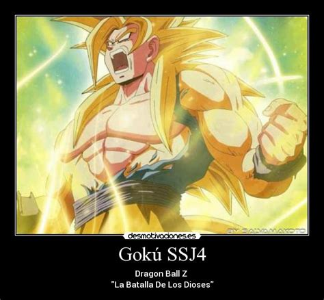 imagenes de goku la batalla delos dioses gok 250 ssj4 desmotivaciones