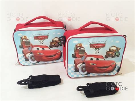 Tas Slempang Anak Multifungsi Car Bebelac tas lunch bag anak cars pictogoodie
