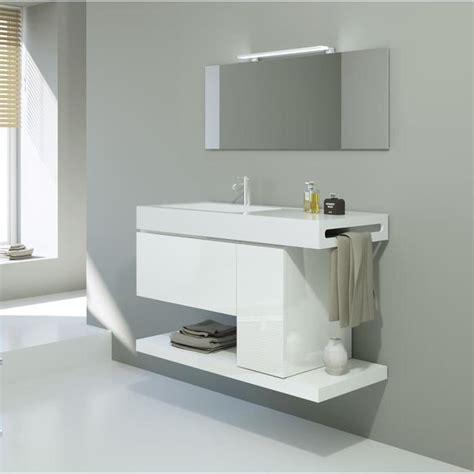meuble de rangement salle de bain 1559 ensemble meuble sous vasque 100cm achat vente meuble