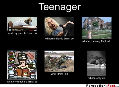 What My Parents Think I Do Meme - teenager what people think i do what i really do