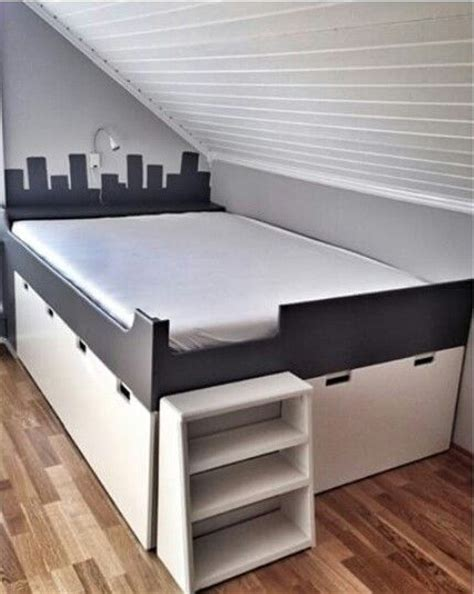 ikea platform bed hack 25 best ideas about ikea platform bed on diy bed frame bed ideas and diy room ideas
