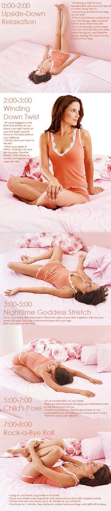 before bed yoga yoga moves to relax your body mind for better sleep the