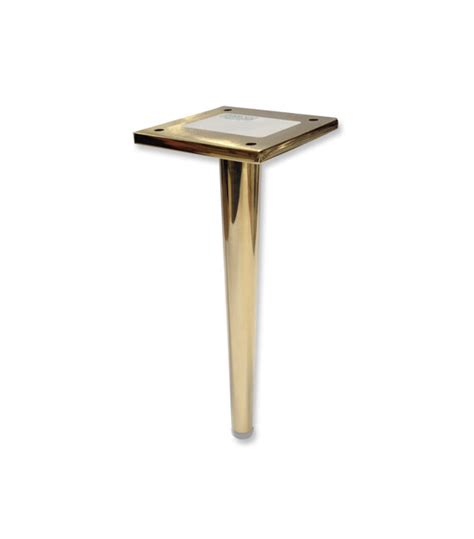 sofa legs for sale dunbar brass metal furniture leg tapered
