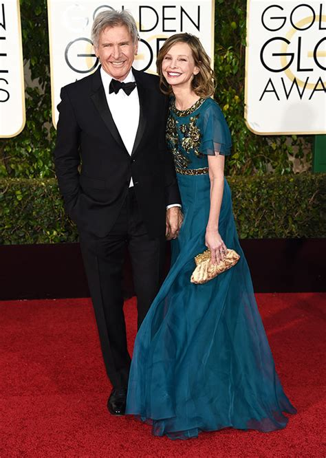 Calista Flockhart And Harrison Ford by Calista Flockhart Wants Harrison Ford To Stop Flying She