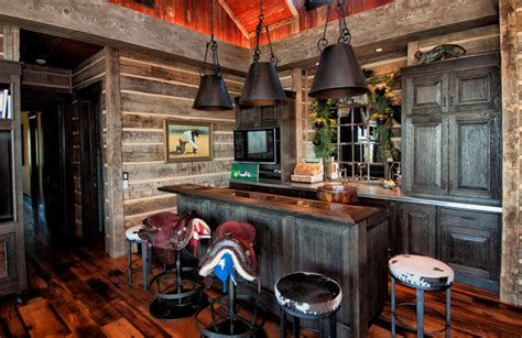 western kitchen decorating ideas saddle stools ergonomic seats with a chic western twist