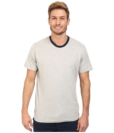 Original Penguin Comfortable Soft Tee Shirt In Gray For