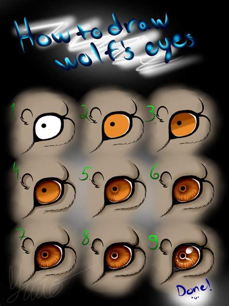 werewolf eyes tutorial wolf s eye tutorial by yuitokanika on deviantart