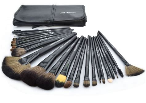 Obeng 9 Set Original Krisbow High Quality New 24 Pcs Set Makeup Brush Cosmetic Set Kit Packed In
