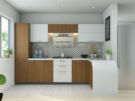 Modular Kitchen Design Ideas L Shaped Modular Kitchen Designs Ingeflinte