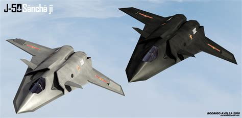 sixth generation jet fighter j 50 trident sixth generation fighter by rodrigoavella