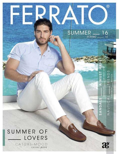 polideportivo temporada de verano 2016 catalogo de calzado ferrato caballero verano 2016