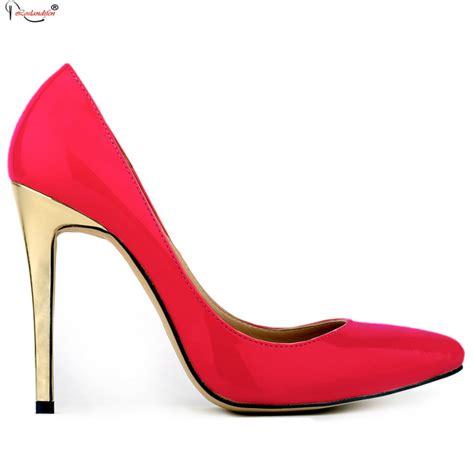 cheap plus size high heels plus size thin high heels 11cm pointed toe thin heel black