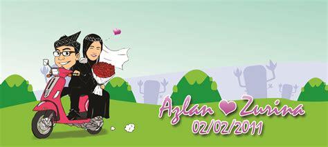 design banner pengantin design mug 1 azlan