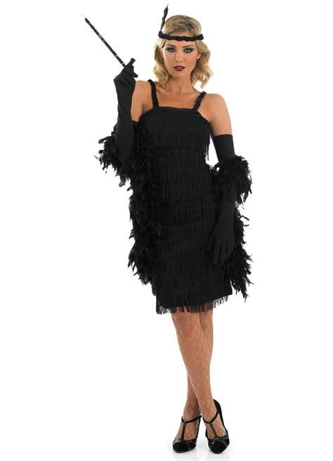 woman fashion mid 20s roaring 20s dresses roaring 20 s girl black adult