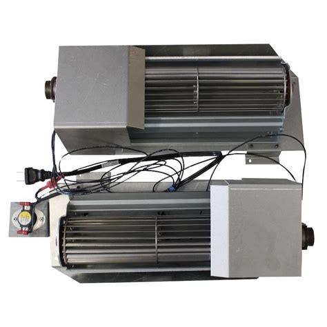 gas fireplace blower fireplace heat exchanger
