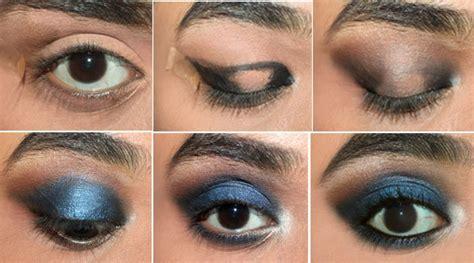 elegant makeup tutorial stylevia elegant blue eyes makeup step by step tutorial